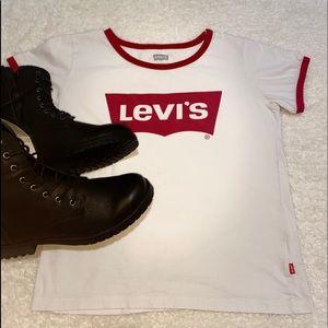 Levi's white tshirt